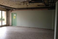 Le foyer, sur le point d'être rénové