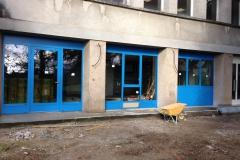 La facade extérieure rénovée