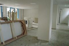 La salle silencieuse presque achevée ...